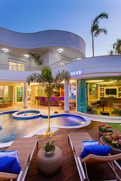 Trendy Modern Art Deco Kitchen Home 36 Ideas Luxury Home Decor, Luxury Interior, Villas, Dream Home Design, House Design, Millionaire Homes, Dream Mansion, Luxury Homes Dream Houses, Dream Homes