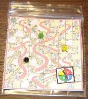 Shoots and ladders game board  (I like the printablty of it but I think it's too small for Preschool)