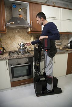 Really want to be able to help   Amazing TEK Robotic Mobility Device for People with Paraplegia