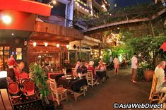 The sun falls quickly on Bangkok and when it does, Sukhumvit Soi 11 becomes a…