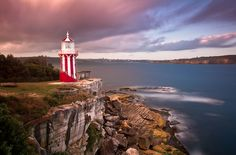Places to Elope Near Sydney: Hornby Lighthouse, in Watson's Bay is an eclectic location located a stone's throw from Sydney's CBD and offering spanning harbour views and relative seclusion