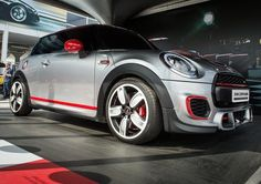 Ladies and Gents introducing the MINI John Cooper Works concept making its UK debut at the MINI stand #MINIatGoodwood
