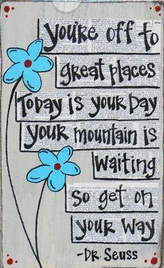 Oh the wisdom of Dr. Seuss