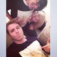 Shane Dawson, Trisha Paytas And Drew Monson