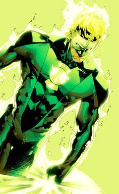 Alan Scott, Green Lantern of Earth Gay Superhero Characters, Dc Comics Characters, Comic Books Art, Comic Art, Top Superheroes, Neotraditional Tattoo, Green Lantern Comics, Green Lantern Hal Jordan, Univers Dc