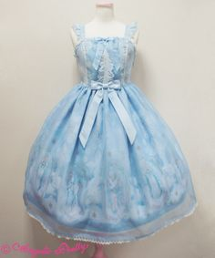Angelic Pretty Cecilia Cross Long JSK