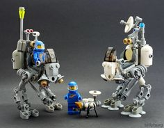 Lunar Explorers and Dog-bot | Flickr - Photo Sharing!