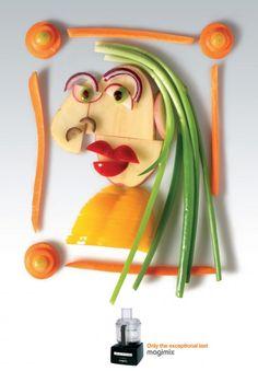 veggie portrait