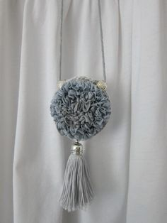 Necklace Tassel Necklace, Tassels, How To Make, Jewelry, Fashion, Moda, Jewlery, Jewerly, Fashion Styles