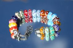 Dice bead collection photo from one of our Trollbeads Gallery Forum members!