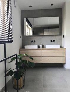 Double Vanity, Small Bathroom, Bathroom Lighting, Bathtub, Mirror, Furniture, Home Decor, Bathroom Makeovers, Small Shower Room