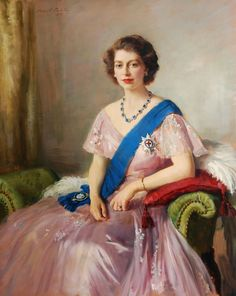 Oswald Birley, Queen Elizabeth