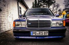 Mercedes 190E Avantgarde Azzurro by Don Raul#1, via Flickr