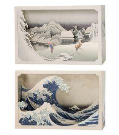 Tatebanko - Paper Dioramas