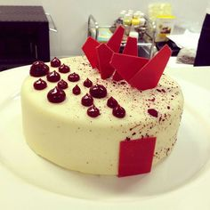 White Chocolate Raspberry Entremet by Pastry Chef Antonio Bachour, via Flickr: