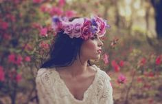 wiosna dziewczyna