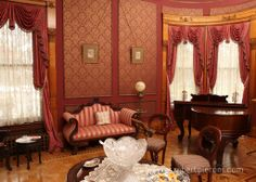 Louisville Kentucky Victorian Interiors | Louisville, Kentucky 40205