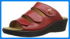 Ganter Gracia Weite G Damen Clogs Partner, Link, Shopping, Shoes Sandals, Shoe, Woman, Clogs, Red