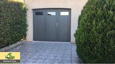 Pontault-Combault Installation d'une porte de garage battante isolante et sécurisée.