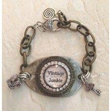 Vintage Junkie spoon bracelet