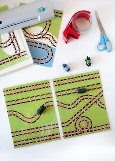 These are the instructions for laminating and assembling theMini Train Play Mat printable file into a sturdy, portable playmat for hours of play. These instructions are intended to be used withthe adorable printable sold exclusively here on Snap Happy Mom. The file is printed, laminated, and assembled to form a two page spread that folds out for play. One side has alandscape scene, and the other side has aracing track. If done correctly, the mat folds closed like a book to be more…