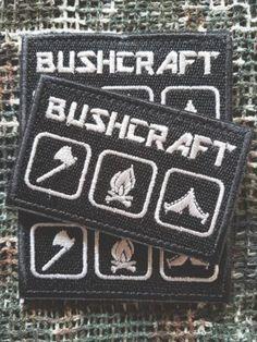 Patch Bushcraft #patch #aufnäher #urbex #bushcraft