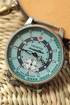 "Pobeda "" #submarine komandirskie "" mens #wrist watch soviet zim #vintage nж, View more on the LINK: http://www.zeppy.io/product/gb/2/182201451909/"