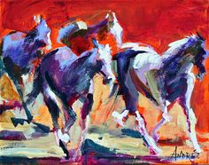 Andree Hudson's paintings are full of motion, but also hold a stunning silence and serenity. http://www.waxlander.com/santa-fe-art-guide/waxlander-artists/bold-brushstrokes-andree-hudson