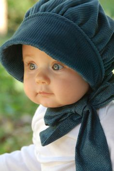 Lovely , Indeed ~ a really Classy little 50s Bonnet,  Reminiscent of days gone by.  Perfect for any beautiful little girl.