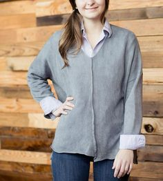 Flood Organic Cotton Pullover by Olivvi on Scoutmob Shoppe