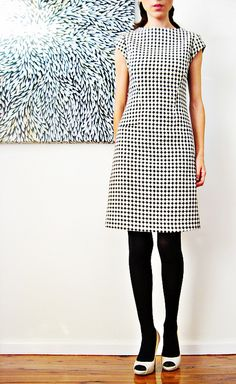 simple shape, simple print. I would have to have a black pump maybe patent leather. Just cant do white shoes.