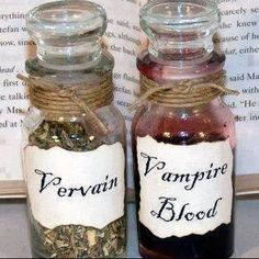 Vervain or vampire blood.