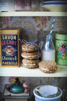 If you love peanut butter, these are the perfect cookies for you! Peanut Butter Sandwich Cookies | DonalSkehan.com