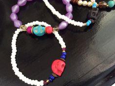 Bracelets skulls home made