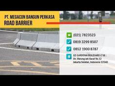 Jual Road Barrier (Pembatas Jalan) Beton / Concrete Barrier dari Pabrik Cirebon, Batam, Palembang, Bogor, Medan, Jakarta, Concrete, Facebook
