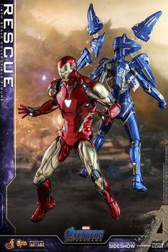 Marvel Rescue Sixth Scale Figure por Hot Toys Marvel Legends, Iron Man All Armors, Marvel Avengers, Marvel Comics, War Machine Iron Man, Miles Spiderman, Hot Toys Iron Man, Avengers Cartoon, Iron Man