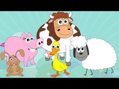 Learn About Farm Animals - Preschool Activity