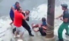 Galdino Saquarema  DESABAFO: Policia libera bandido preso pela população no RJ
