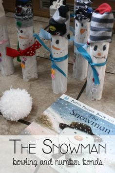 The Snowman - Bowling and Number Bonds from Rainy Day Mum