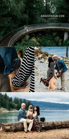 Patrick and Roxanne's love story, with their dog Kirby. See the result on the link! Engagement Photo Inspiration, Engagement Photos, Engagement Session, Summer Photos, Fall Photos, Vancouver Photos, Family Photo Sessions, How To Pose, Street Photo