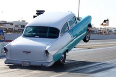 55 Chevy on the bumper!