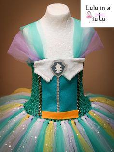 Everest Paw Patrol Inspired Tutu Dress Mountain by LuluInATutuUK