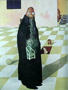 Victor Brauner - Kabiline in Movement Victor Brauner, Rene Magritte, Surrealism Painting, Max Ernst, Fantastic Art, Types Of Art, Occult, Caricature, Art History