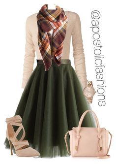 """""""Apostolic Fashions by apostolicfashions featuring Fat Face, Chicwish, Foley + Corinna and Marc by Marc Jacobs Mode Outfits, Skirt Outfits, Fall Outfits, Fashion Outfits, Womens Fashion, Look Fashion, Autumn Fashion, Jw Fashion, Fashion Spring"""