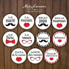 #mariage #badges