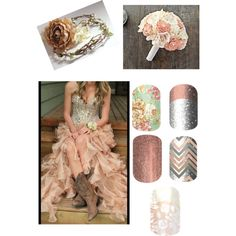 Country Glam Wedding - Jamberry