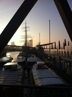 Hamburger Hafen in Hamburg, Hamburg