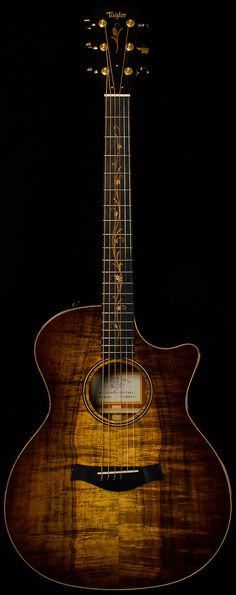 taylor - k24ce cv. aa grade koa. Oh how pretty, I wonder if it sounds as pretty as it looks....?