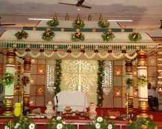 Check out the delightful marriage Halls in Chennai. Book best halls at affordable price only at bookmyfunction Wedding Hall Decorations, Marriage Decoration, Backdrop Decorations, Flower Decorations, Background Decoration, Engagement Decorations, Indian Wedding Stage, Tamil Wedding, Wedding Mandap