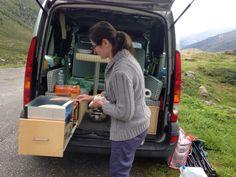 Cucina in alta montagna con Kampgoo